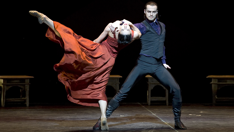 St. Petersburg's Eifman Ballet Performs