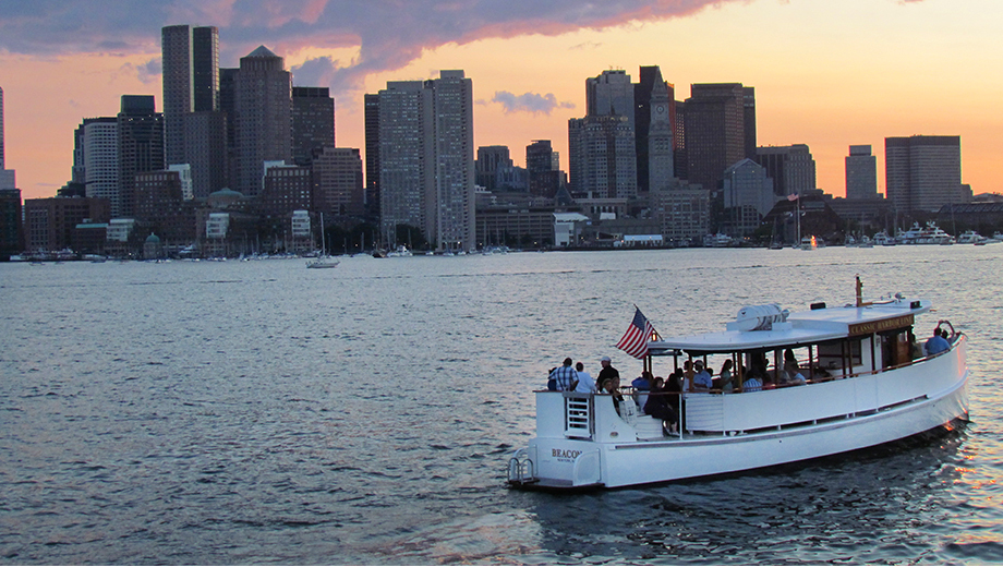 Romantic City Lights Cruise of Boston Harbor $10.00 - $18.00 ($31.5 value)