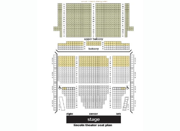 The lincoln theatre washington d c tickets schedule seating