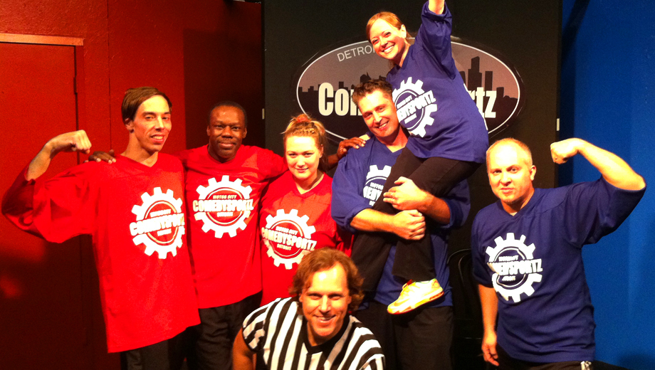 ComedySportz: Fast and Funny Improv Competition $5.00 - $8.50 ($17 value)