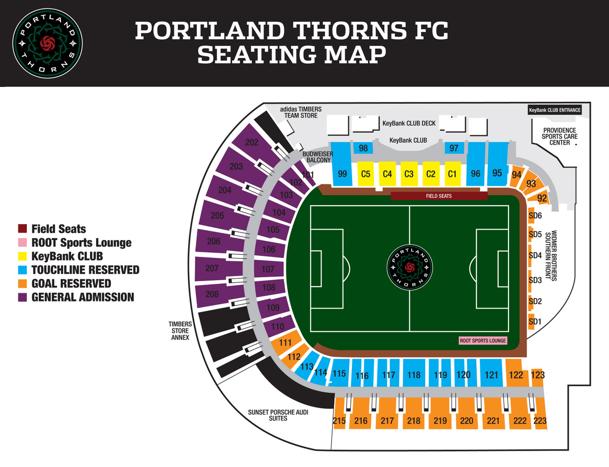 providence park portland tickets schedule seating charts portland thorns 1461085004