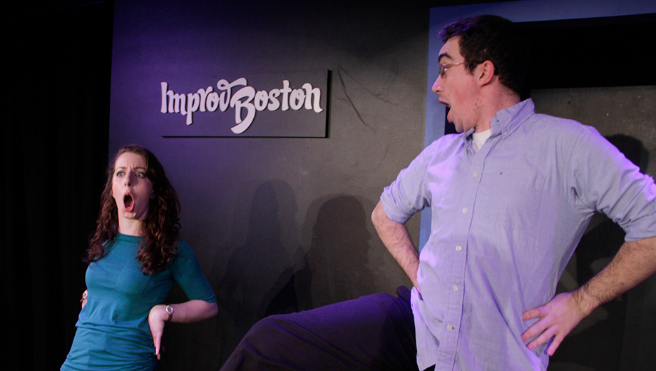 ImprovBoston Keeps the Laughs Rolling With