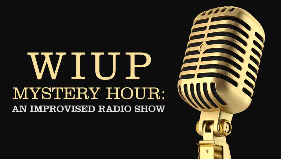 Improvised Live Radio Show