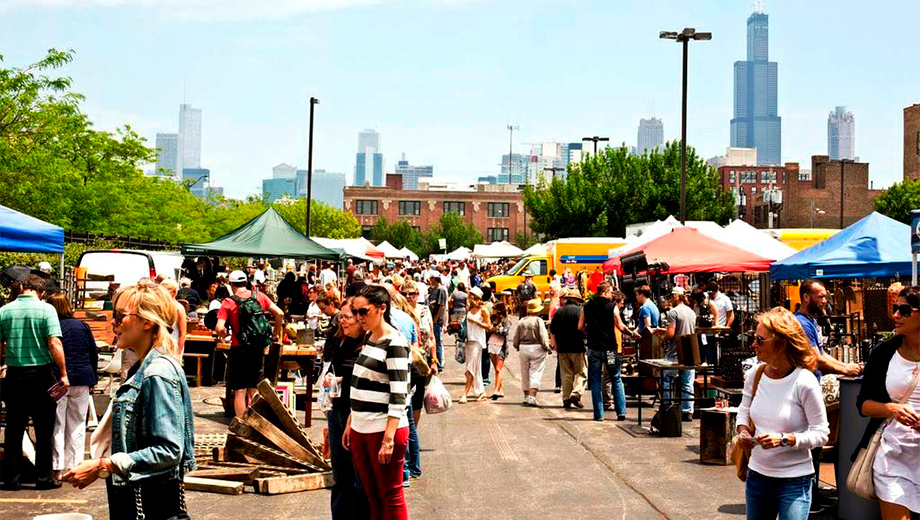 Randolph Street Market Festival: Vintage & Designer Finds, Plus Great Food & Music $7.00 ($14 value)