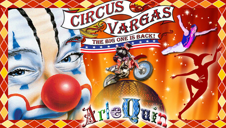 "Circus Vargas: ""ArleQuin"""