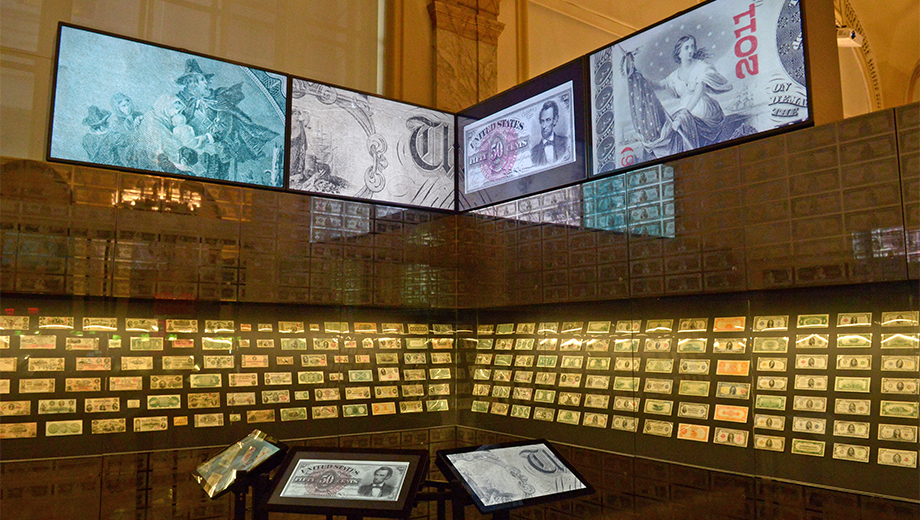 Museum of American Finance Exhibit