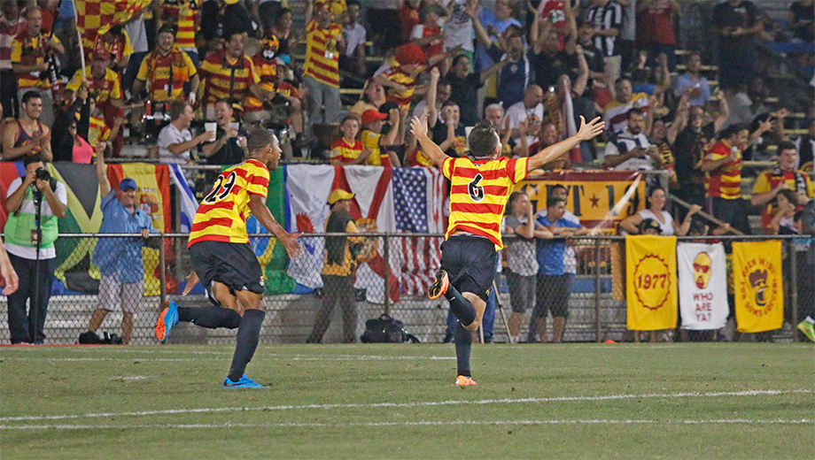 Fast-Paced Footy Action With the Fort Lauderdale Strikers $6.00 - $10.00 ($12 value)