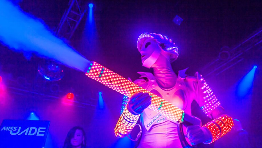 DJs, Robots, Aerialists and More at Cirque Fridays at Highline Ballroom $10.00 ($20 value)