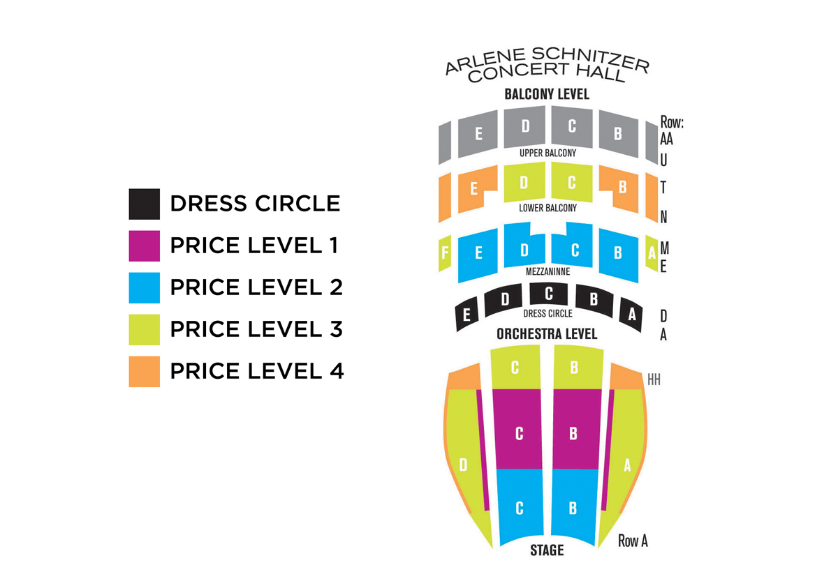Arlene Schnitzer Concert Hall Portland Tickets Schedule Seating - Arlene schnitzer seating chart
