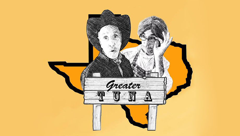 Two Actors Play 20 Townsfolk in Small-Town Comedy