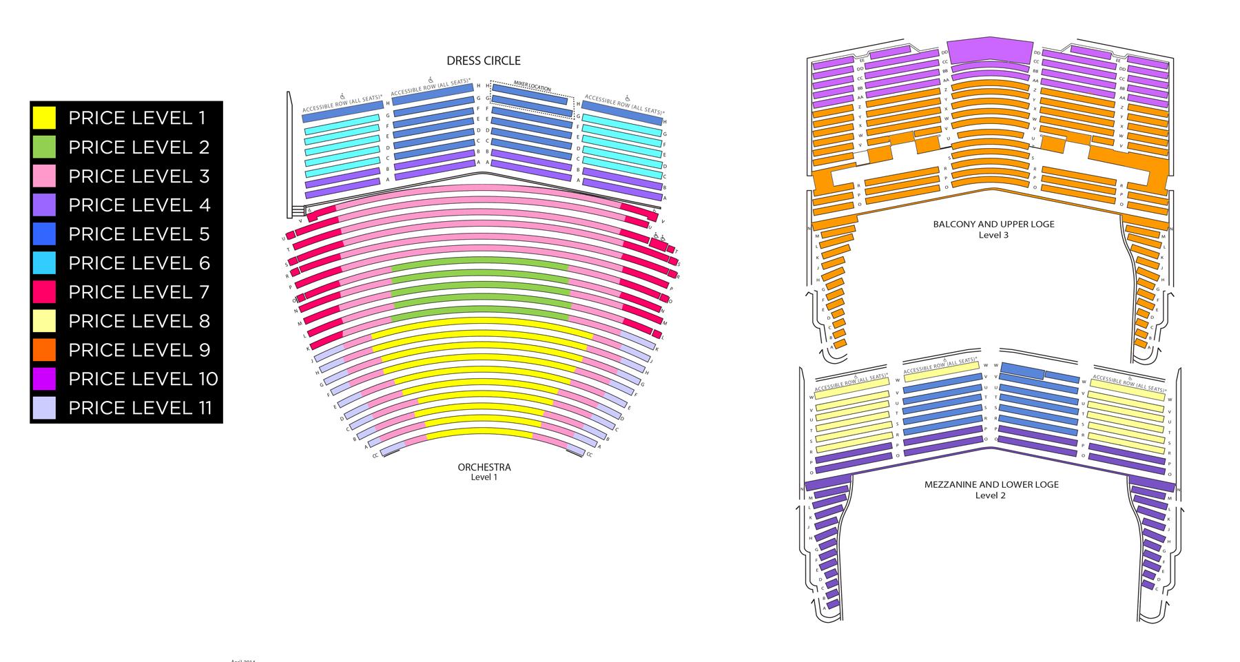 San diego civic theatre san diego tickets schedule seating