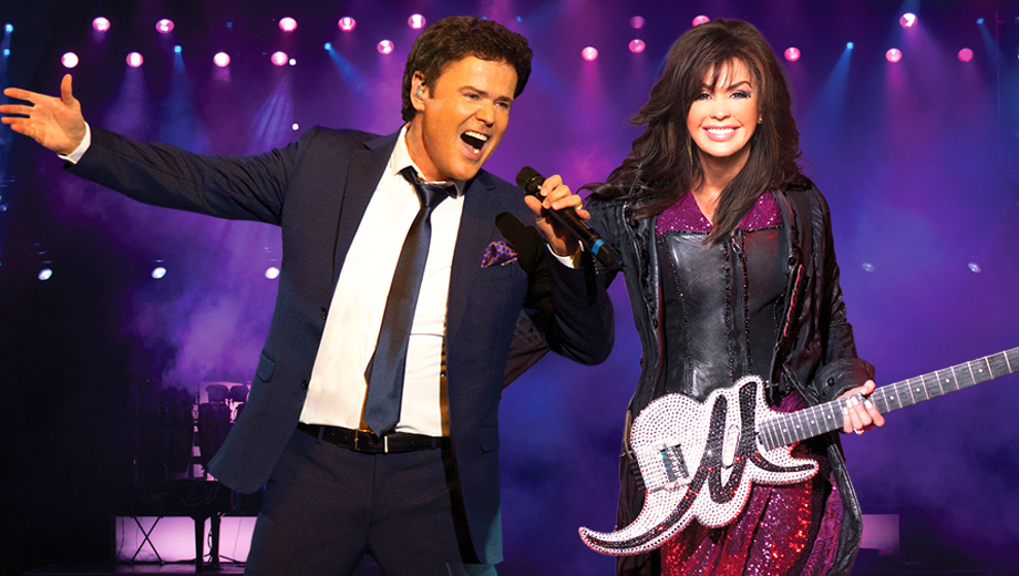 Donny & Marie Osmond Sing the Hits on The Strip $78.29 ($116.75 value)