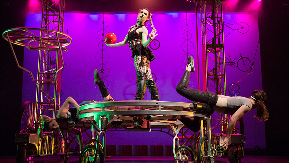 Innovative Modern Cirque at Annual