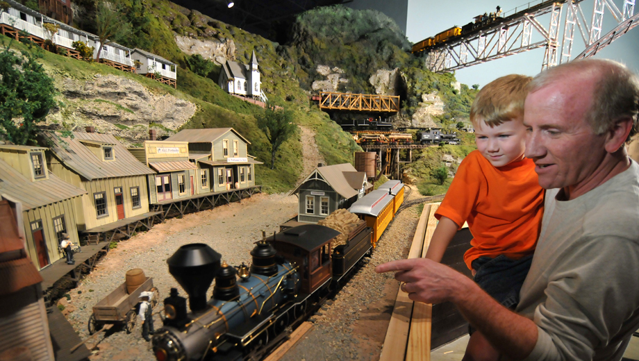 All Aboard World's Largest Train Display at EnterTrainment Junction Museum & Play Area $9.50 ($15.95 value)