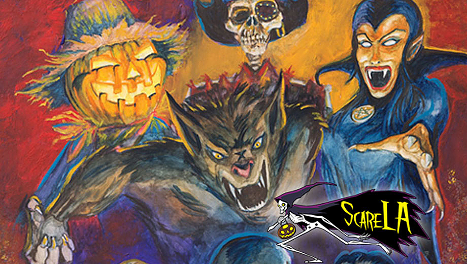 Halloween in the Summer: Interactive, Spooky Fun at ScareLA $15.00 - $17.50 ($30 value)