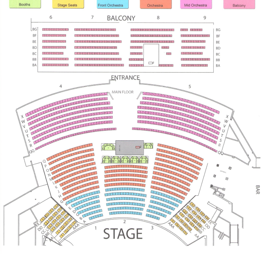 Westgate Seating Chart 1431447177