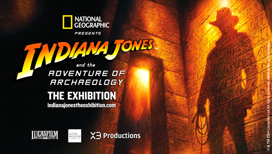 Explore the Indiana Jones Exhibit at the National Geographic Museum $9.50 ($15 value)