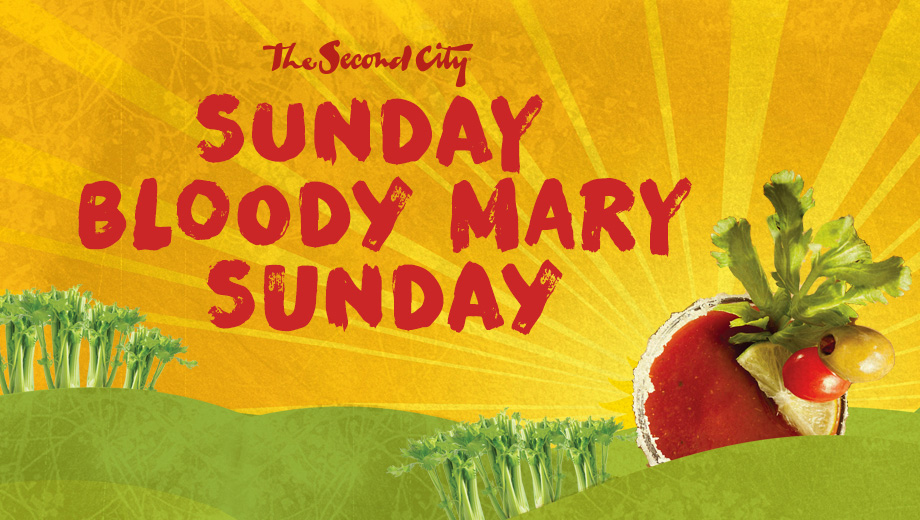 Brunch, Comedy & Bottomless Bloody Marys & Mimosas at Second City's Sunday-Funday $30.00 ($40 value)