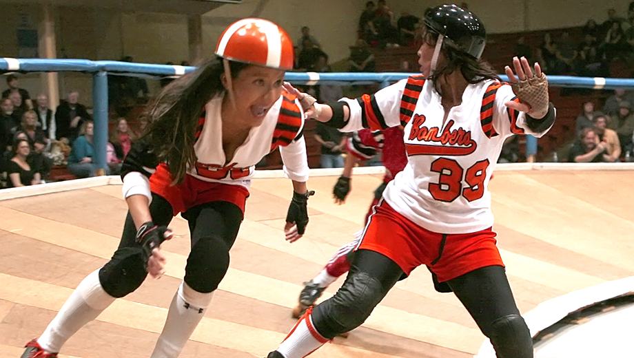 Roller Derby Champs Bay Bombers Compete on Banked Track $11.00 ($22 value)