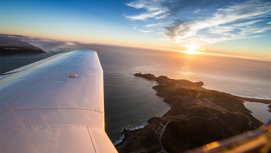 Fly a Plane in Scenic San Francisco Peninsula Tour: U-Fly Adventure SkyTour $144.95 - $194.45 ($268.95 value)