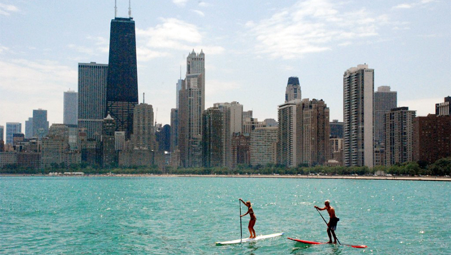 Stand-Up Paddleboard Rental: Fun in the Sun & Beautiful Views of Downtown $30.00 ($60 value)