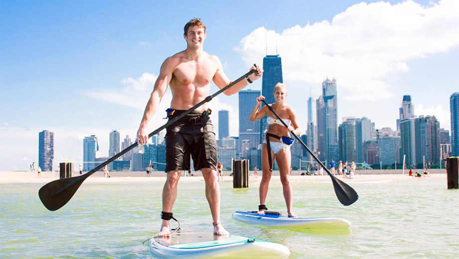 Nighttime Stand-Up Paddle Boarding by the Light of the Full Moon & Fireworks $50.00 ($100 value)