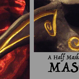 Masq: A Half Mask Commedia