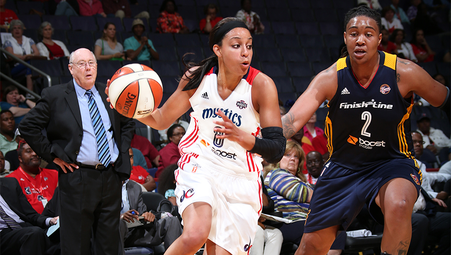 WNBA Basketball With the Washington Mystics $22.50 - $25.50 ($37.95 value)