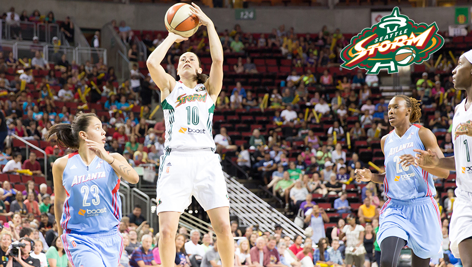 Seattle Storm: Thunderous WNBA Action at KeyArena COMP - $17.00 ($19 value)