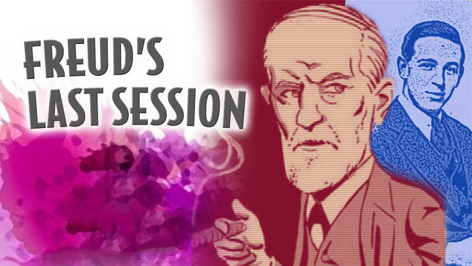 Freud & C.S. Lewis Talk God, Sex & Meaning of Life in