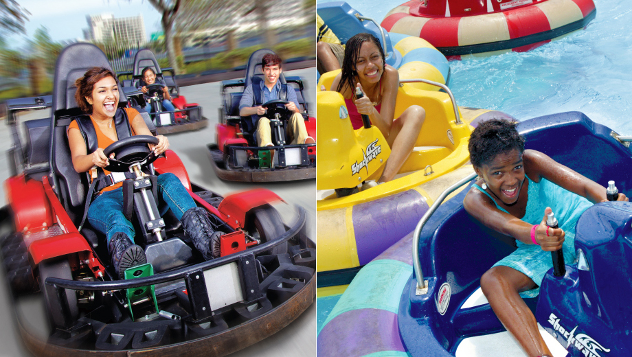 Go-Karts, Bumper Boats & More at Boomers! Long Island