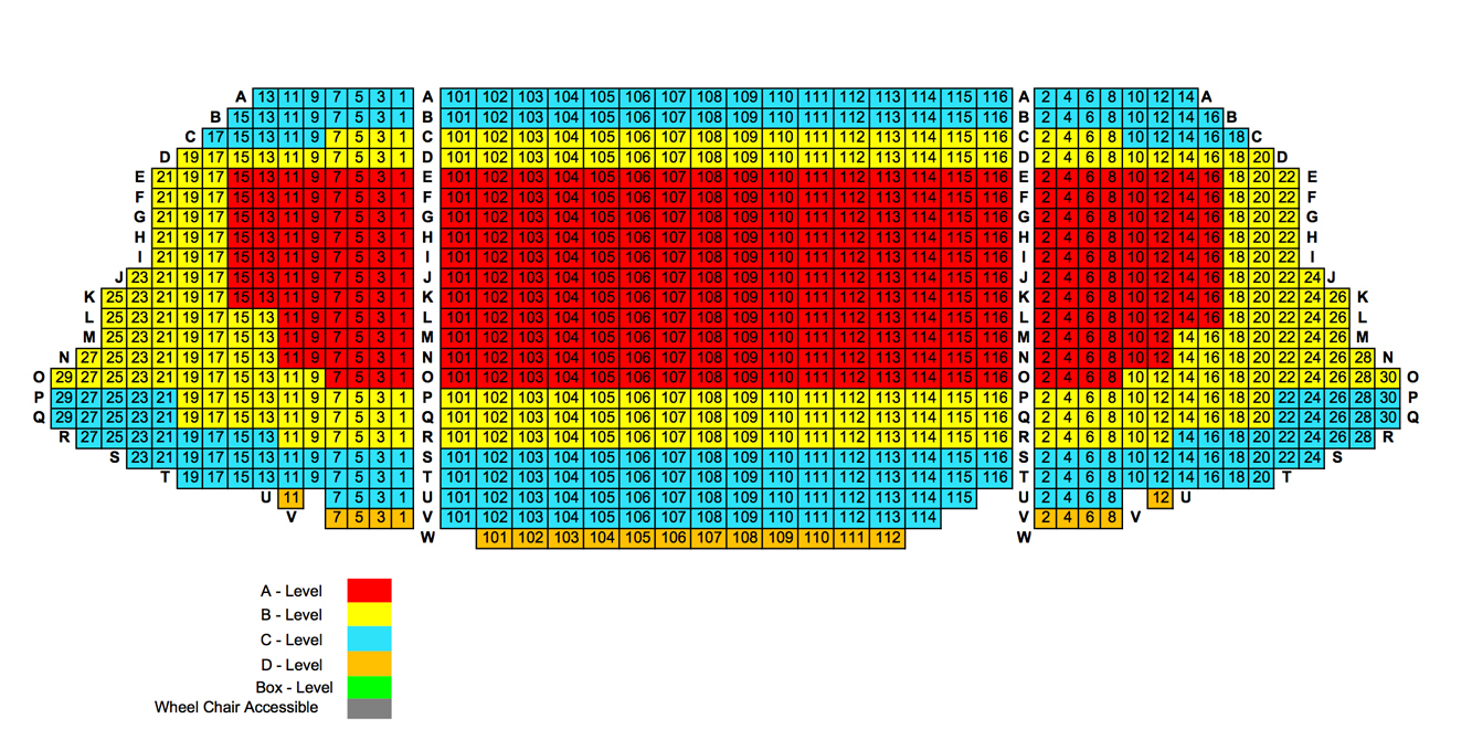 Chicago symphony center chicago tickets schedule seating charts