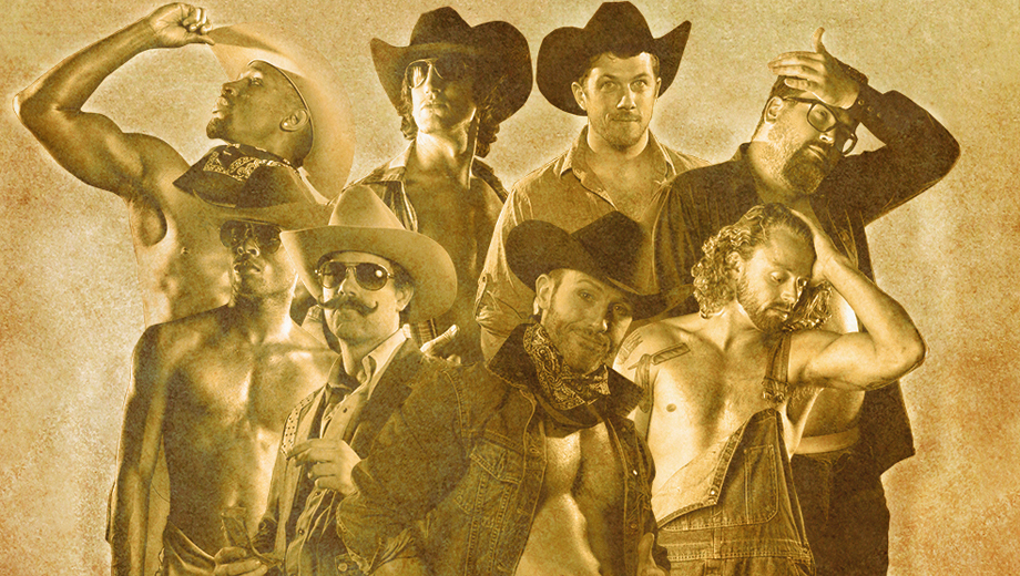 All-Male Revue Sends-up
