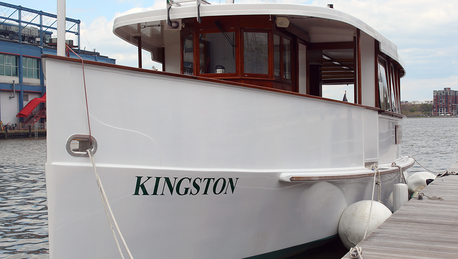 Statue & Skyline Cruise Aboard Classic Yacht Kingston $19.20 ($32 value)