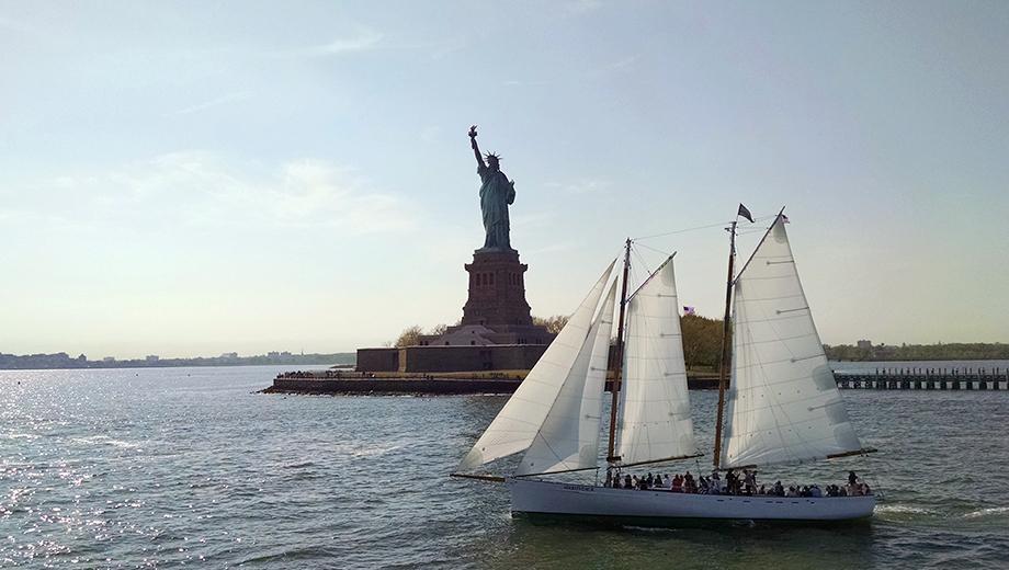 Elegant Sunset Sailboat Cruise Aboard the Adirondack Schooner $40.80 ($68 value)
