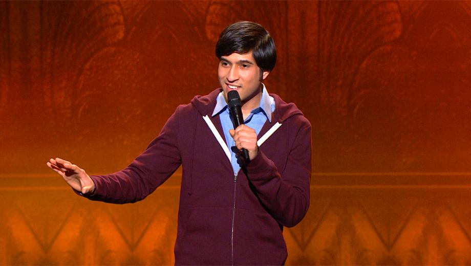 Comedian Alingon Mitra: