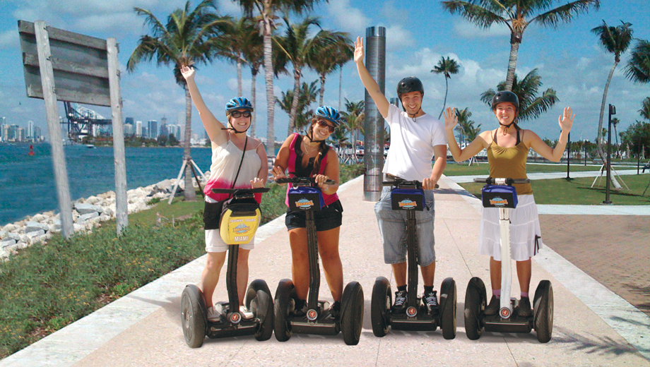 Roll Out of Bed and Roll Through South Beach on the