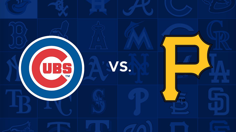NL Central Rivals Clash as Cubs Visit Pirates $12.00 - $34.00 ($22 value)