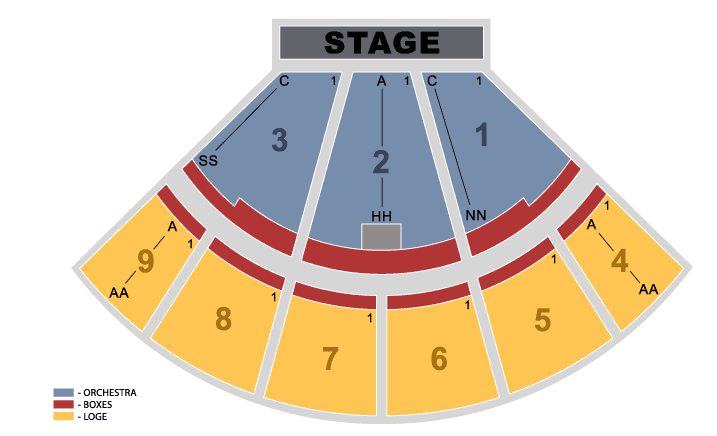 Glen helen amphitheater inland empire tickets schedule seating