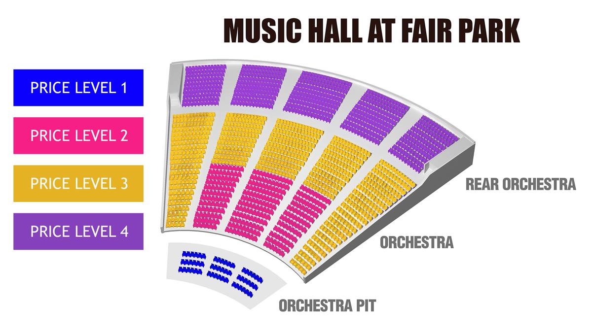 Music hall at fair park dallas fort worth tickets schedule