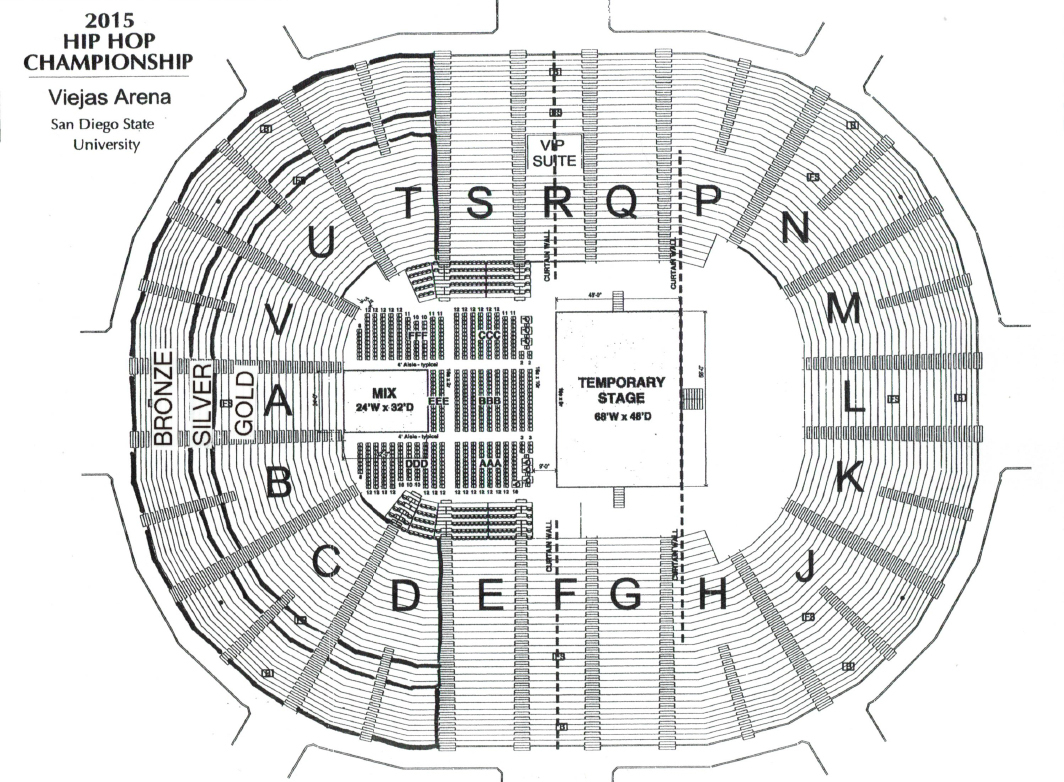 Viejas arena san diego tickets schedule seating charts goldstar