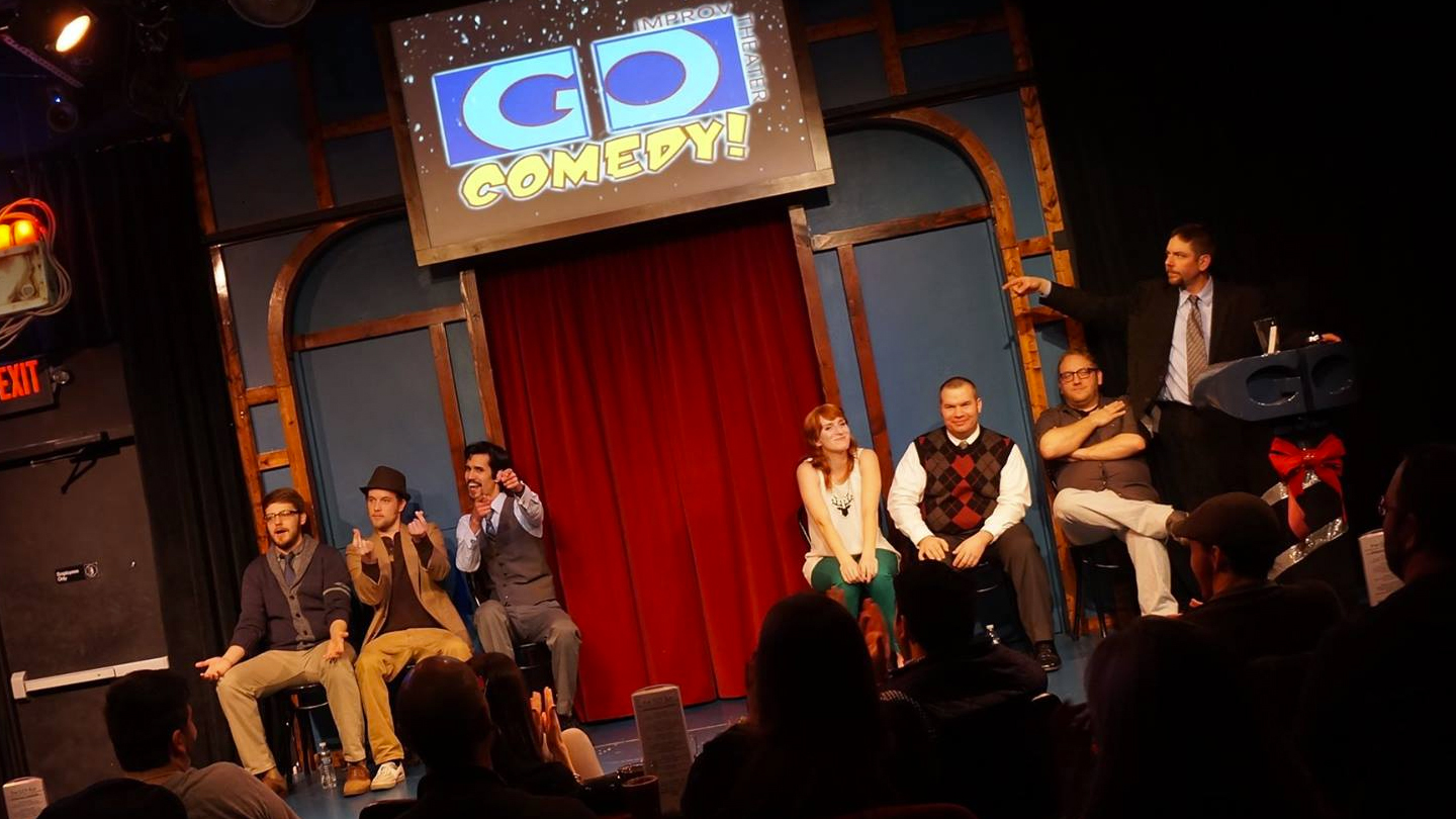 Music- and Movie-Themed Improv at Go Comedy COMP - $10.00 ($20 value)
