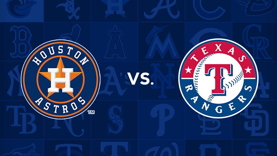 Houston Astros vs. Texas Rangers: Major League Baseball $14.00 - $44.00 ($24 value)