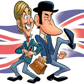 John Cleese & Eric Idle: Together Again At Last ... For The Very First Time