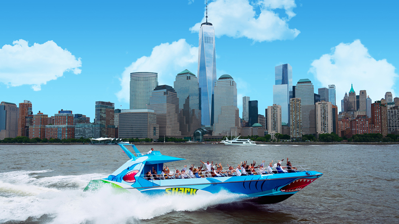 Shark Speedboat Thrill Ride of New York Harbor $12.00 ($28 value)