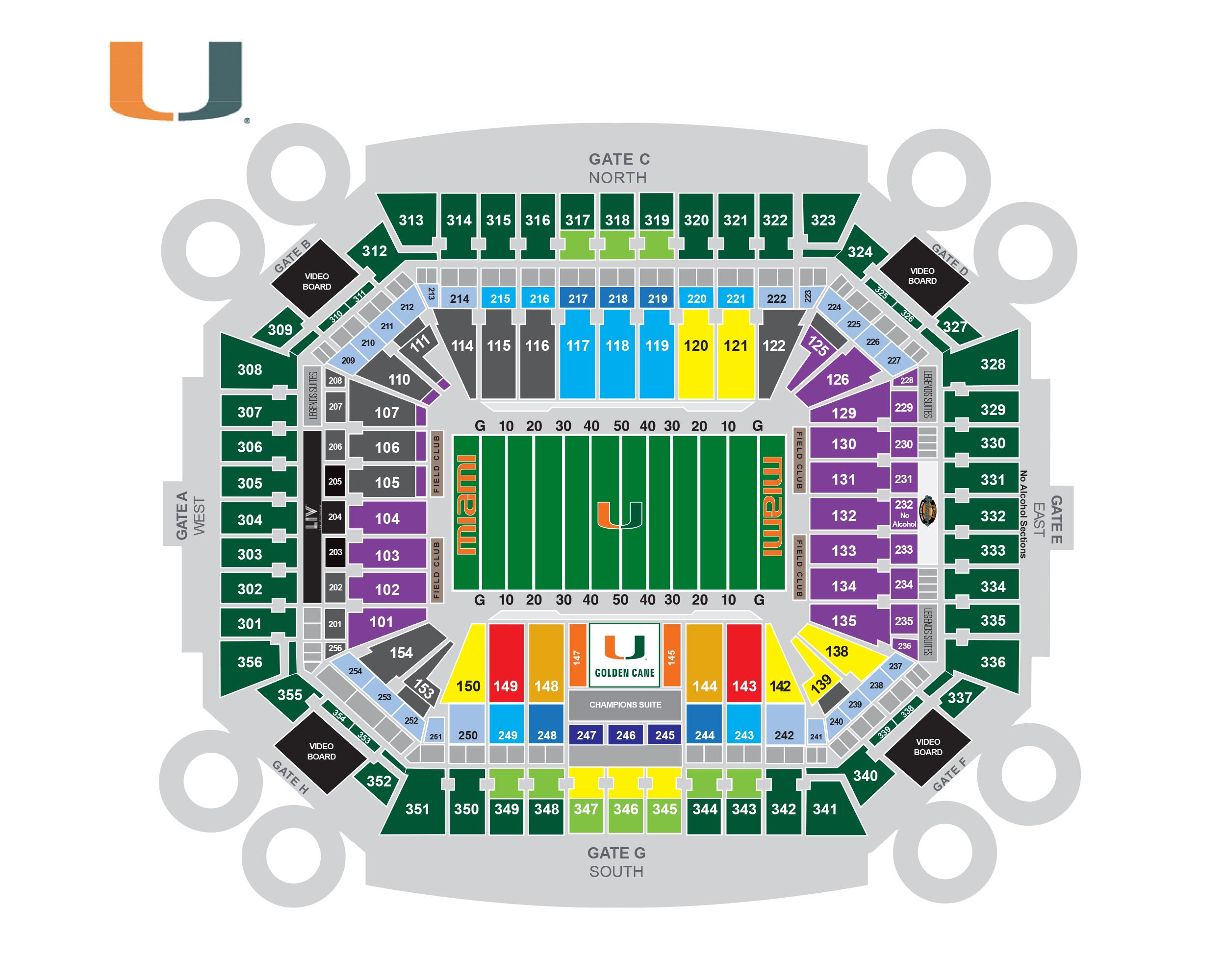 sun life stadium seating chart 2015 Lookokeyes
