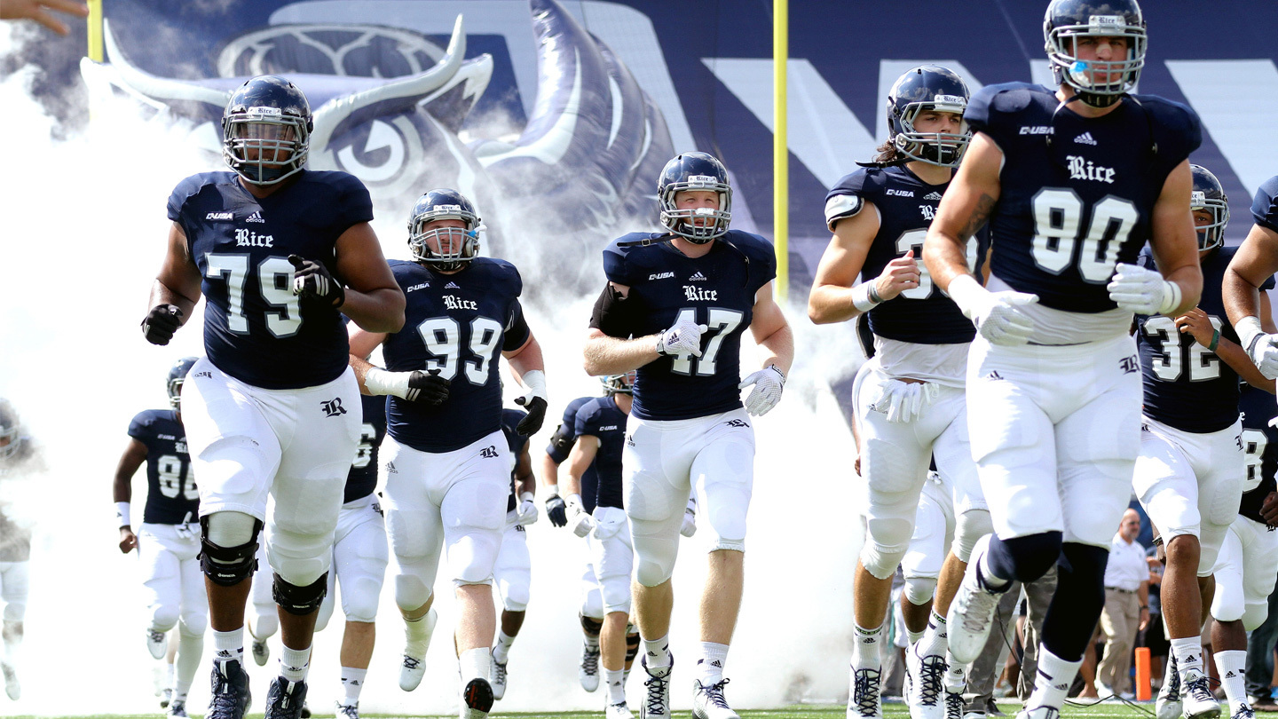 College Football Action With the Rice Owls COMP - $35.00 ($20 value)