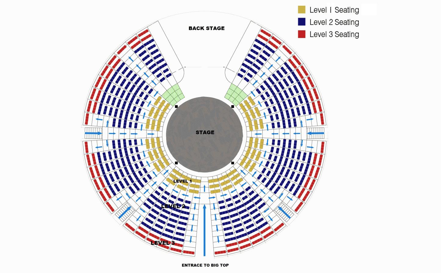 Big apple circus seating chart philadelphia elcho table