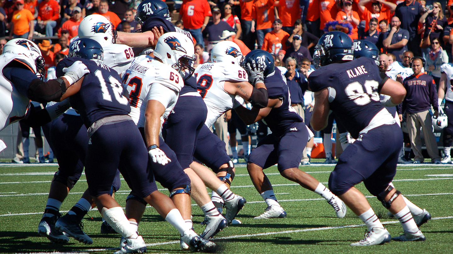 NCAA Football Action With the Rice Owls $10.00 - $35.00 ($20 value)