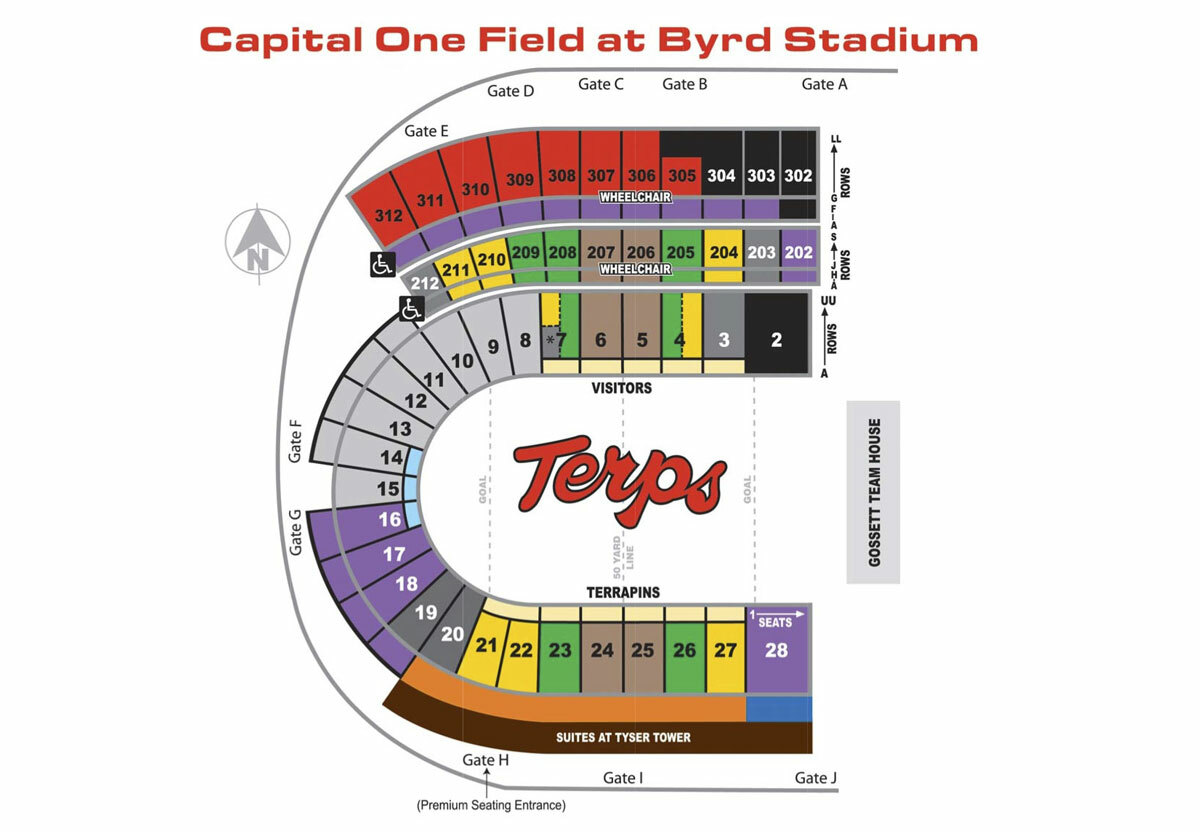 Capital one field at maryland stadium college park md tickets